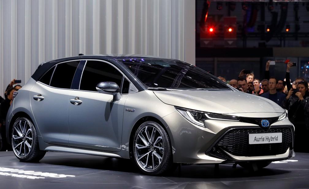 Toyota Auris faz estreia no Salão de Genebra (Foto: Pierre Albouy/Reuters)