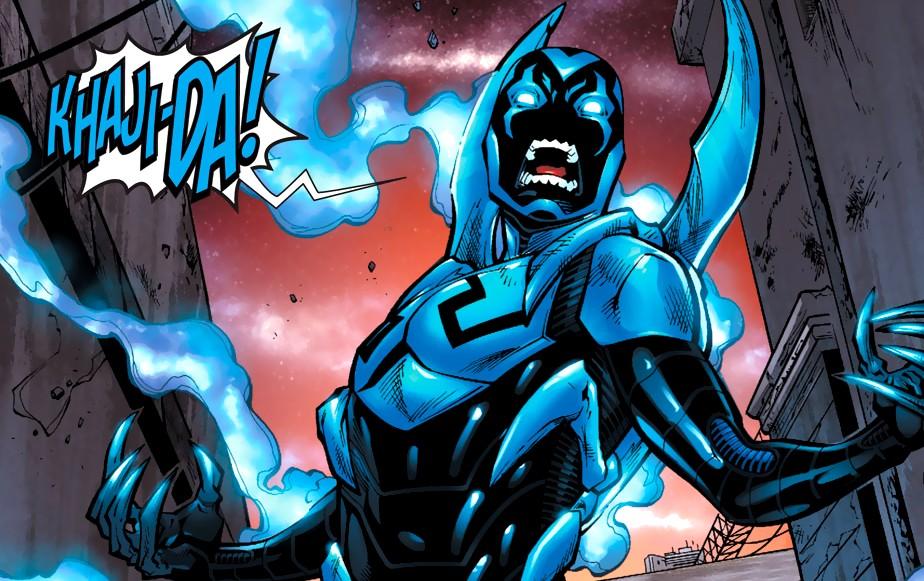A versão latina do herói Besouro Azul, Jaime Reyes (Foto: Reprodução)