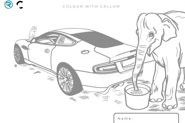 Desenhos Ian Callum (Foto: Reprodução/Internet)