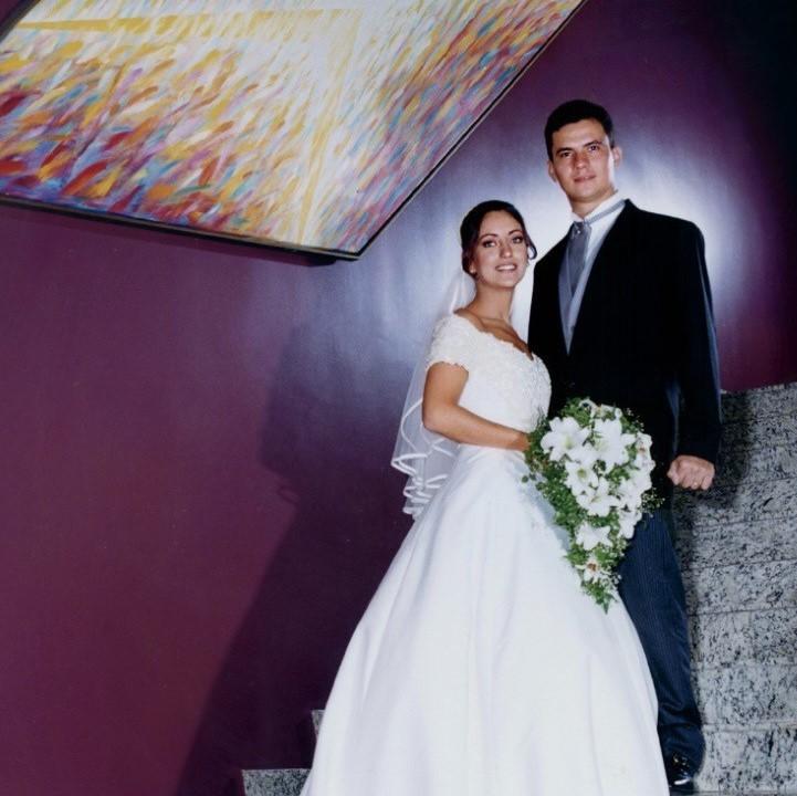 O casamento de Rosangela e Sergio Moro em Curitiba em 1999