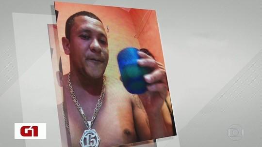 Traficante bebe cerveja, faz fotos com a mulher e transmite imagens de prisão