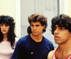 Claudia Raia, Edson Celulari e Alexandre Frota em 'Sassaricando',  de 1987 | TV Globo