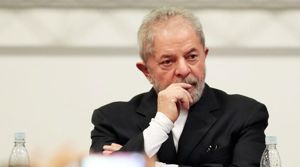 Ex-presidente Luiz Inácio Lula da Silva foi condenado em primeira instância pelo caso do triplex em Guarujá (Foto: Leonardo Benassatto/Estadão Conteúdo/Arquivo)