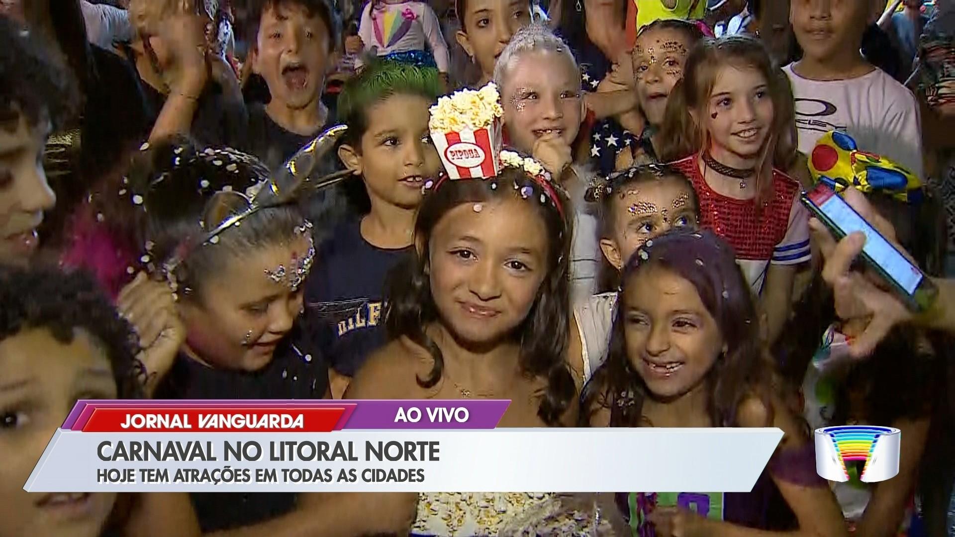 VÍDEOS: Jornal Vanguarda de sábado, 22 de fevereiro