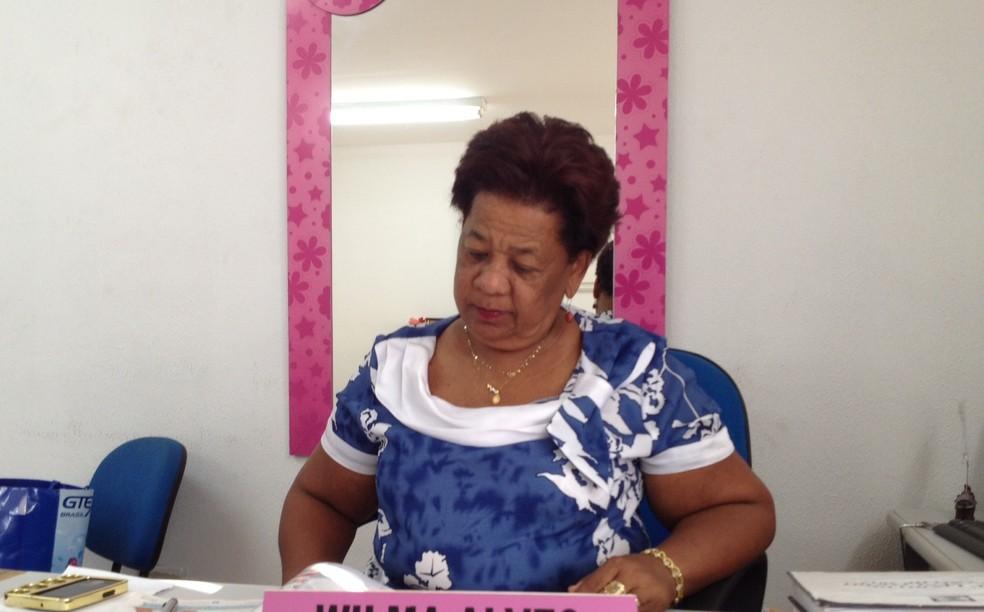 Delegada Vilma Alves apura o caso (Foto: Ellyo Teixeira/G1)