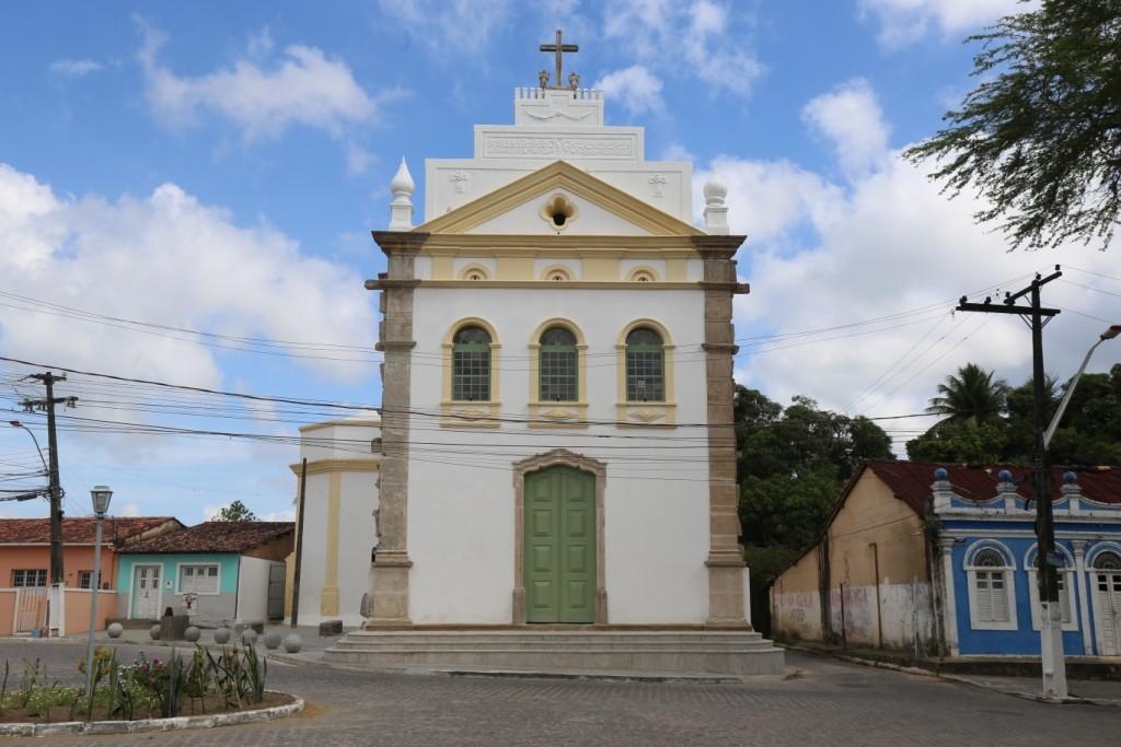 Igreja do século 18 é restaurada na cidade histórica de Marechal Deodoro, AL