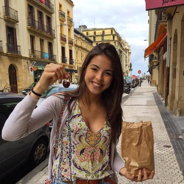 Júlia é formada em Gastronomia e Nutrição (Foto: Reprodução)