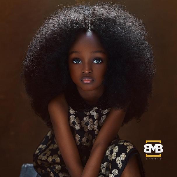 """Jare Ijalana, a """"garota mais bonita do mundo"""" (Foto: Reprodução / Instagram @mofebamuyiwa)"""