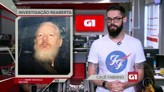 G1 em 1 Minuto: assassinatos caem 24% no 1º trimestre do ano no Brasil