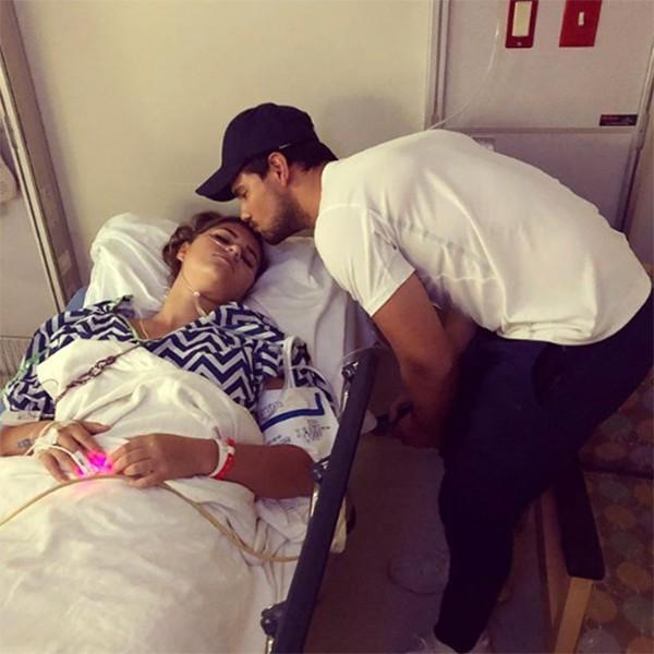 Taylor Lautner e Makena (Foto: Instagram)
