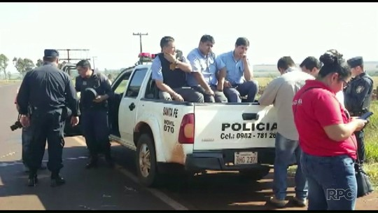 Motorista de carro-forte assaltado no Paraguai participou do crime, diz polícia
