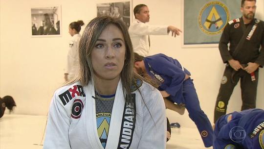 No jiu-jitsu, ex-modelo vence depressão e se torna campeã da modalidade