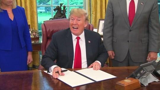 Trump assina ordem que acaba com separação de famílias de imigrantes