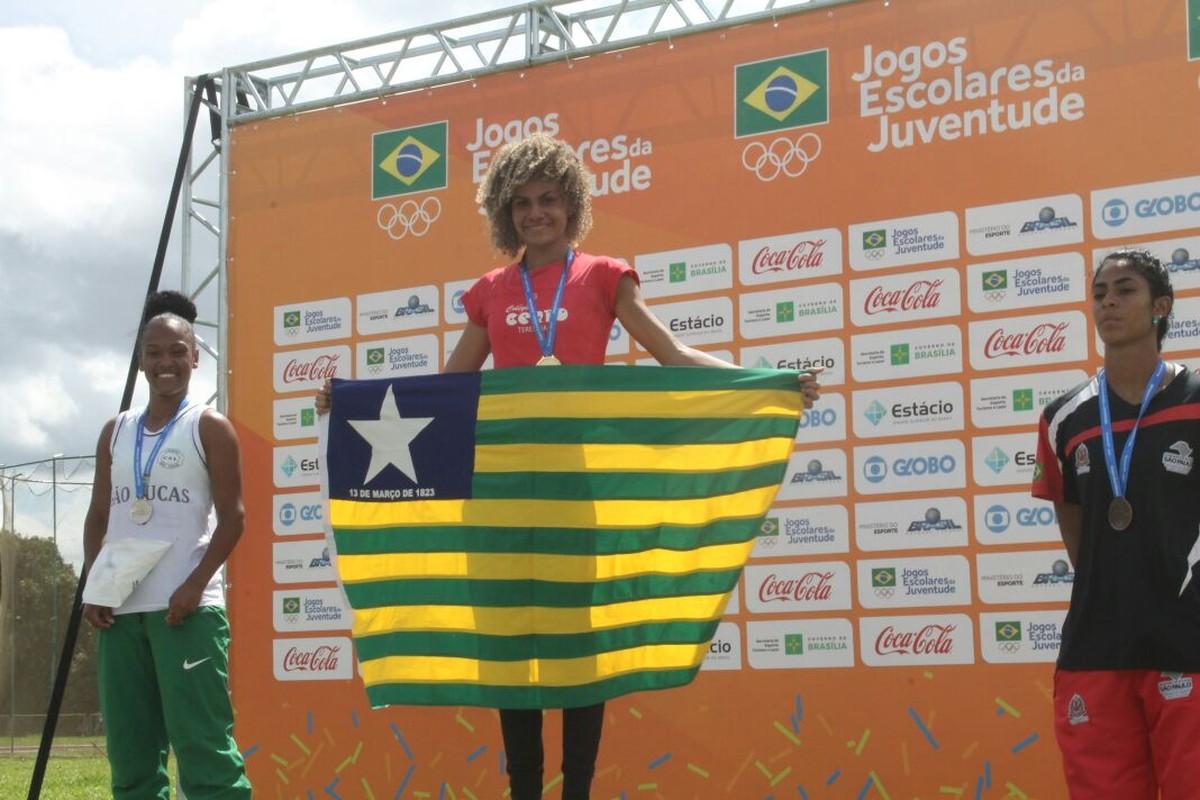 Piauí bate recorde do estado e leva 10 medalhas individuais dos Jogos  Escolares  f6a990cc598a7