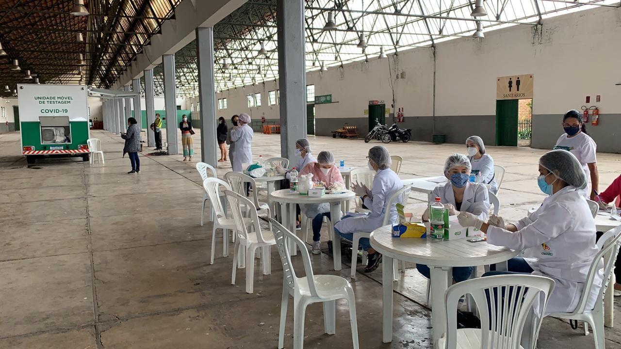 Unidade Móvel de Testagem realizou mais de 2 mil exames em Caruaru, diz Secretaria de Saúde