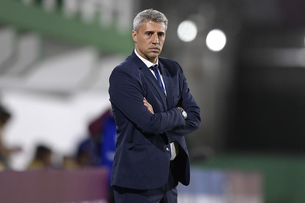 Hernan Crespo é o novo técnico do São Paulo — Foto: Juan Mabromata - Pool/Getty Images