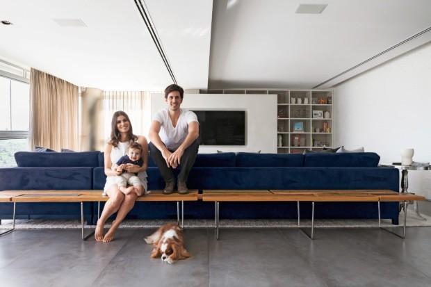 Apartamento proetado pelo escritório Basiches Arquitetos Associados - Neutro com vida (Foto: Lufe Gomes / Editora Globo)