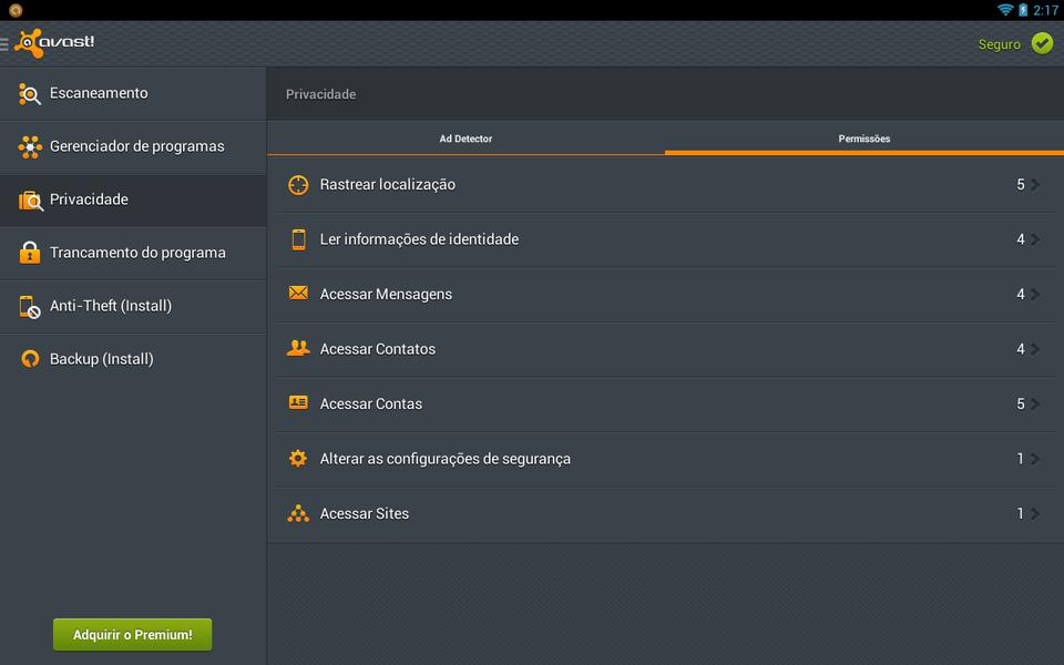 Avast Mobile Security & Antivirus   Download   TechTudo