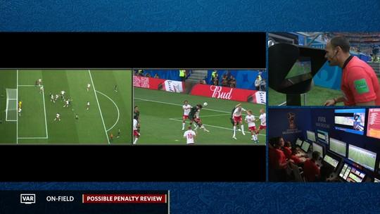 """Técnico da Dinamarca questiona uso do VAR e reclama: """"Tira o charme do futebol"""""""