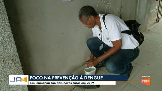 Blumenau registra segundo caso de dengue importada em 2019