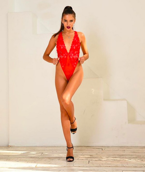 A modelo russa Olya Sergeevna (Foto: Instagram)
