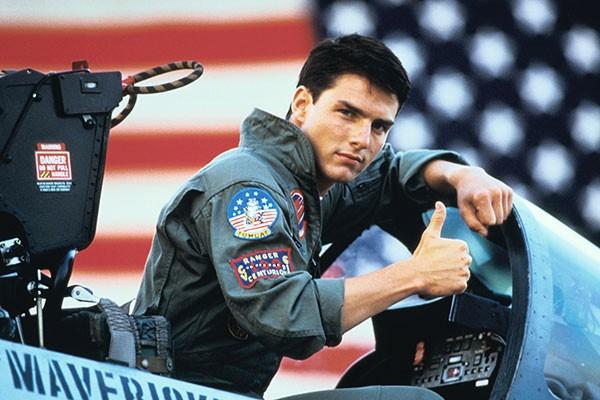 'Top Gun: Ases Indomáveis' (1986) (Foto: Divulgação)