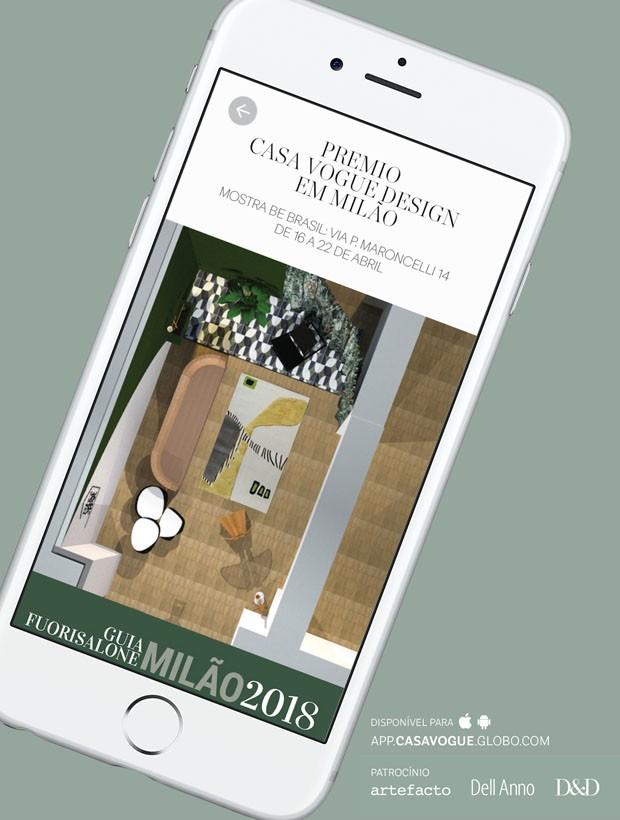 Aplicativo da Casa Vogue tem guia completo para Milão 2018 (Foto: Divulgação)