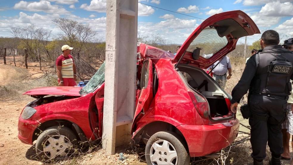 Estudante de medicina morre em acidente de carro na RN-288 (Foto: Divulgação PM)