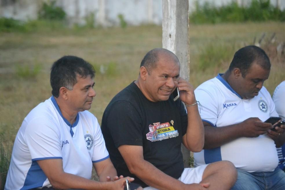 Batista Filho (presidente) e José Paulo (diretor de futebol) encaminham apresentação de trio em janeiro (Foto: Didupaparazzo )