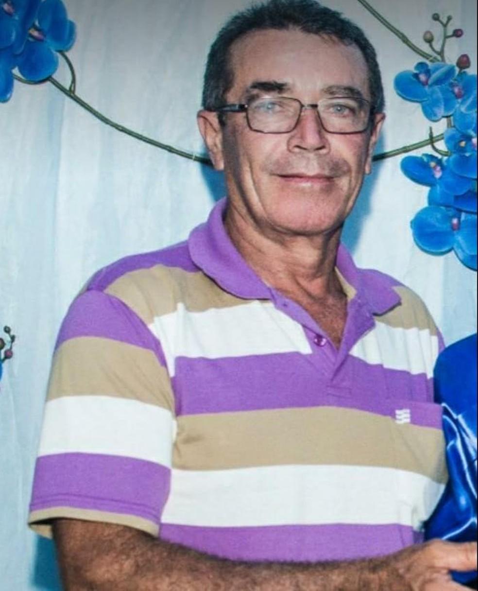 Clidenor Cassiano da Silva tinha 55 anos — Foto: Arquivo familiar