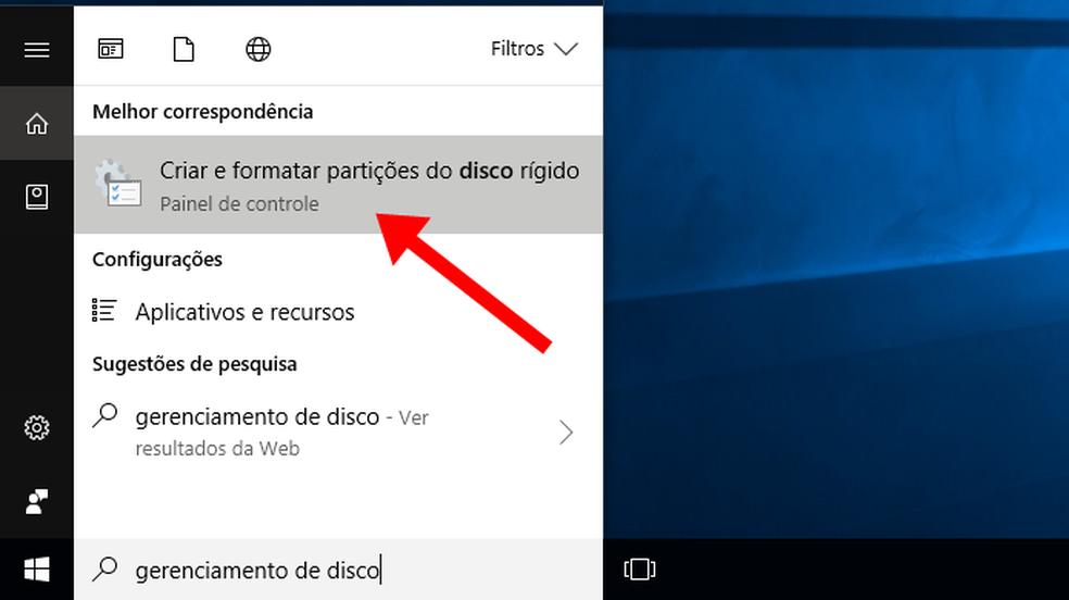 b203ad6b647 Acesse o gerenciador de disco do Windows Passo 2. Conecte o pen drive ou HD  externo ao computador para vê-los listados. O primeiro disco é o HD  interno, ...