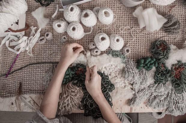 Você precisa conhecer esses 5 artistas que fazem tapeçarias inspiradas na natureza - Vanessa Barragão (Foto: reprodução)