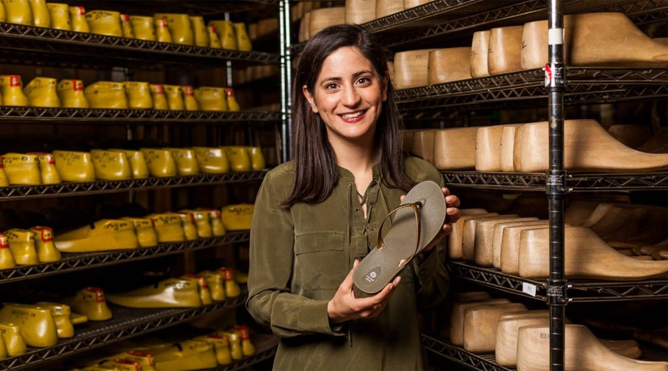 Sara Irvani: empreendedora aposta em produtos sustentáveis  (Foto: Divulgação )