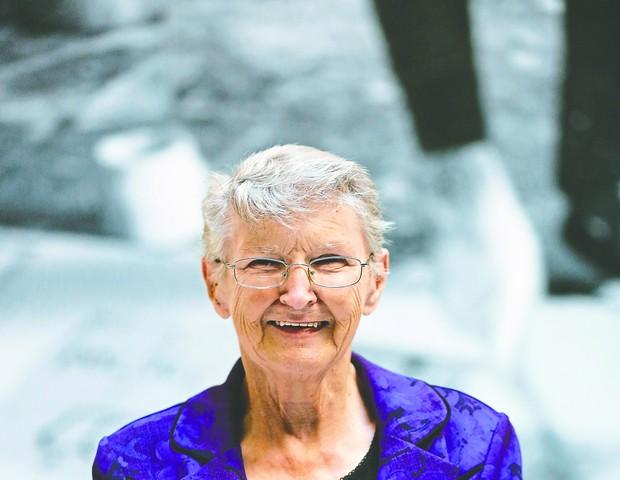 Agnes Furey, 81 anos, trabalhou como enfermeira no tratamento de viciados em drogas (Foto: Marcelo de Jesus)