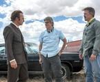 'Better call Saul': Bob Odenkirk,  Peter Gould e Vince Gilligan durante as gravações da série | Divulgação/Jacob Lewis