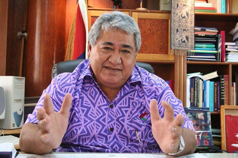 Tuilaepa Sailele, chefe de governo de Samoa (Foto: Wikimedia Commons)