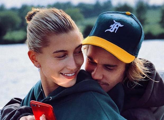Justin Bieber pediu a modelo Hailey Baldwin em casamento em julho deste ano (Foto: Instagram/ Reprodução)