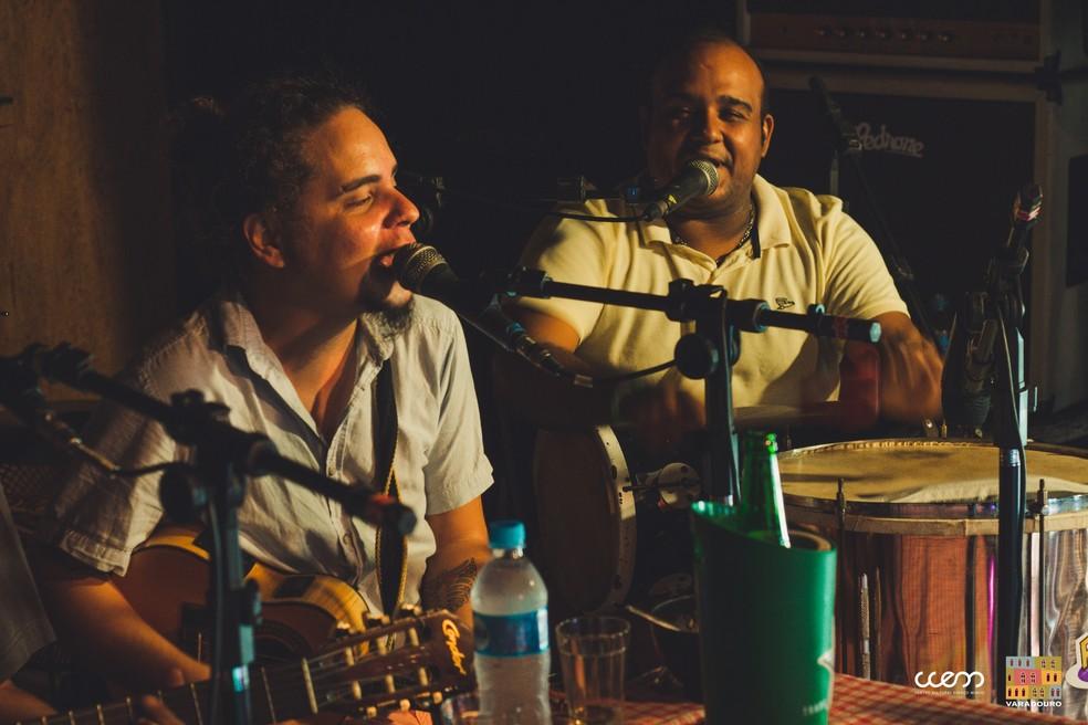 Banda Trem das Onze, no A Ordem é Samba — Foto: Marcelo Rodrigues/Espaço Mundo