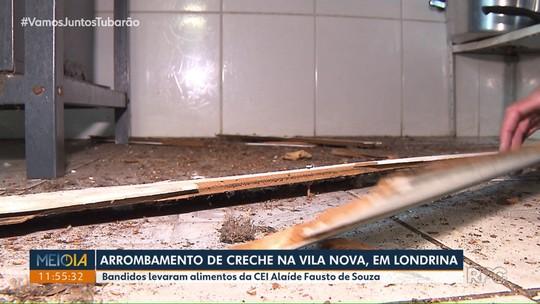 Centro de Educação Infantil é arrombado na Vila Nova, em Londrina