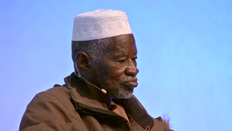 Yacouba Sawadogo, agricultor de Burkina Faso (Foto: Reprodução/YouTube Global Landscapes Forum - GLF)