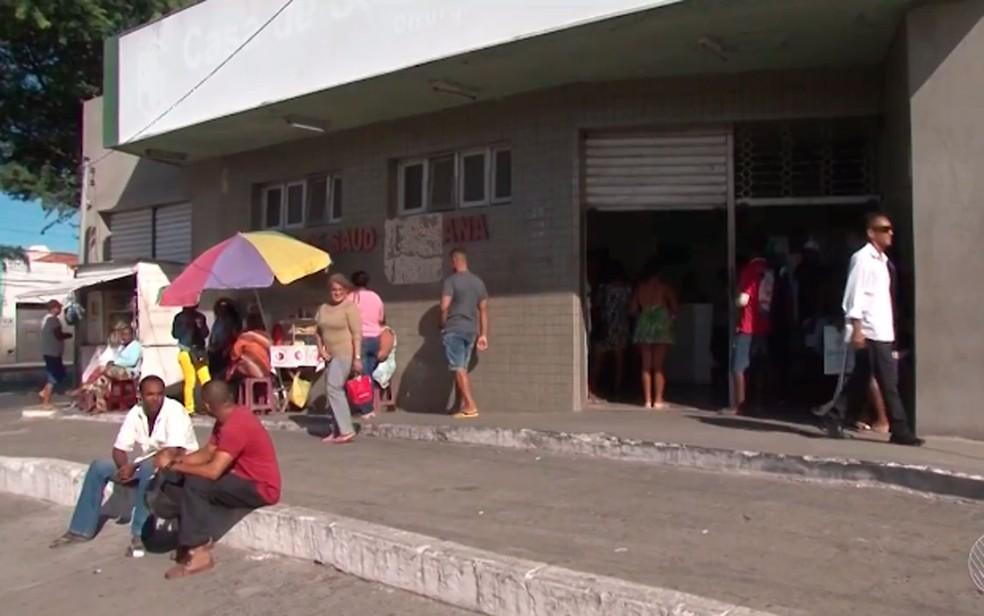 Cobrança de cirurgia teria acontecido na Casa de Saúde Santana (Foto: Reprodução/TV Subaé)