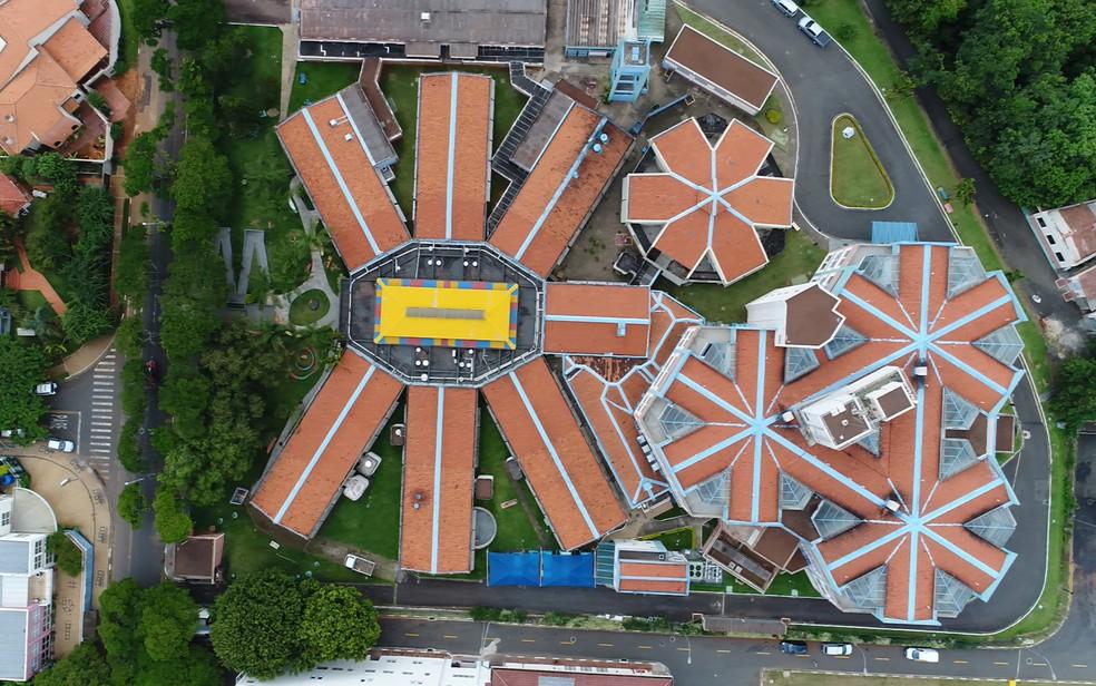 Resultado de imagem para Vista aérea do Centro Infantil Boldrini, em Campinas, referência na América Latina para tratamento de câncer e doenças do sangue