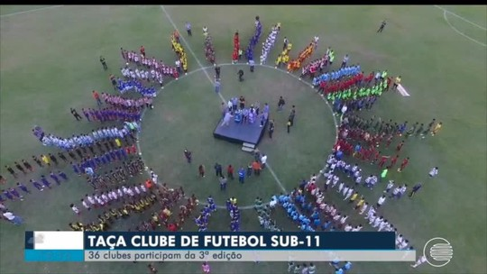 Torneio mais fofo do Brasil, Taça Clube sub-11 tem início com 900 atletas e drone no meio da galera