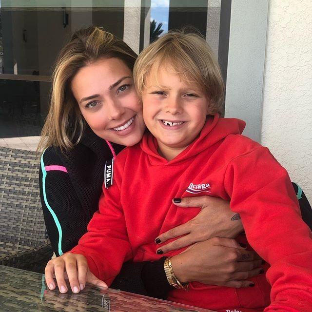 Carol Dantas e Davi Lucca (Foto: Reprodução Instagram)