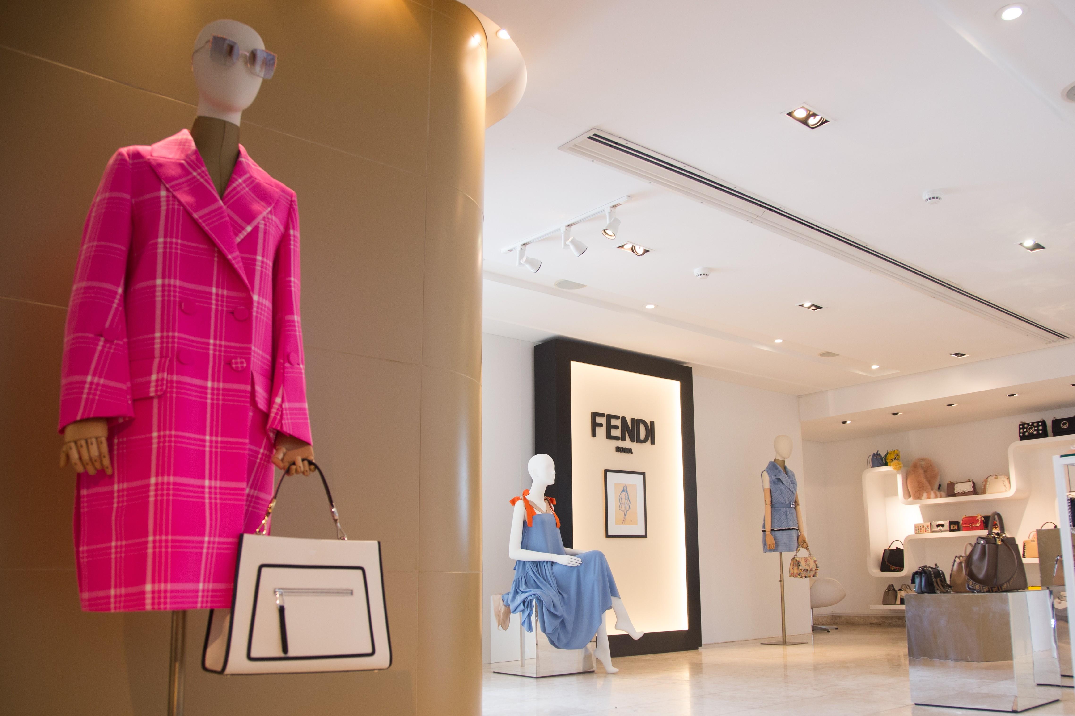 Pop up store da Fendi na Dona Santa (Foto: Divulgação)