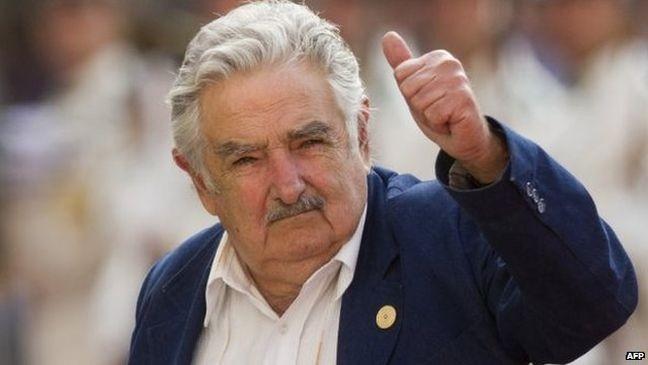 O ex-presidente do Uruguai José Mujica