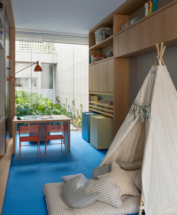 A cabaninha da Futon Company traz o clima de aventura dentro de casa (Foto: Salvador Cordaro/Divulgação)