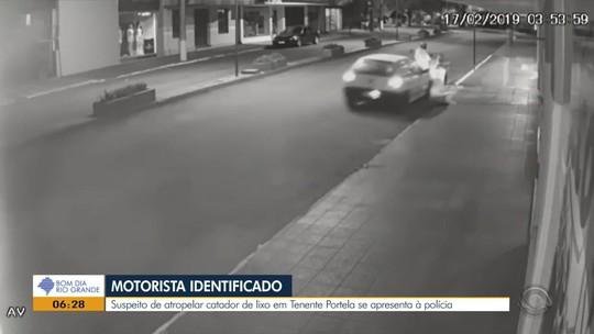 Homem suspeito de atropelar catador de lixo em Tenente Portela é preso