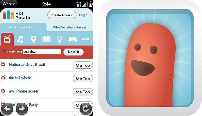 O Hot Potato foi comprado para turbinar a ferramenta de check-in (Foto: Reprodução/Facebook)