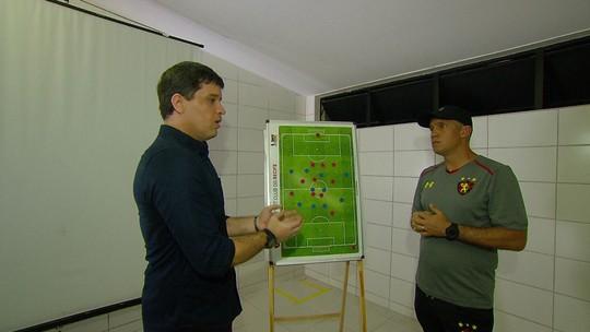 Cabral Neto conversa com Eduardo Baptista sobre bastidores do trabalho e aspectos táticos no Sport